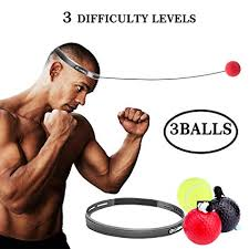 Boxing Fight Ball Reflex for Improving Speed ... - Amazon.com