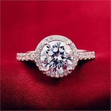 <b>925 Sterling Silver</b> Cubic Zirconia New Jewelry Wedding Ring ...