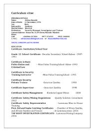 curriculum vitae for kasashi adrian copy