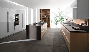 Concrete Floor Kitchen Large Kitchen Floor Tiles Zampco