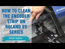 How to Clean the <b>Encoder Strip on</b> Roland VS Series - YouTube