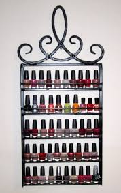 Hanging Wall Nail Polish Rack Organizer <b>Royal Crown</b> Design ...