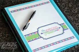it s time for back to school organization simply organized homeschool planner