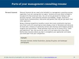 Consulting Resume Examples   getessay biz