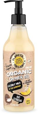 Planeta Organica Skin Super Food <b>Гель для душа No</b> Stress, 500 мл