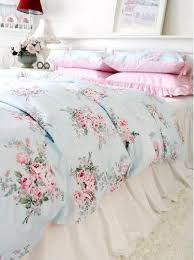 the shabby chic home blue shabby chic bedding