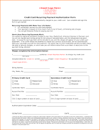 7+ recurring credit card authorization form | Authorization Letter Credit Card Recurring Payment Authorization Form--Defined End Date by .