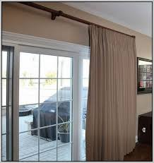 large sliding patio doors: curtain rod for large sliding glass door