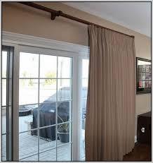 large sliding patio doors: curtain rod for large sliding glass door