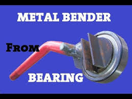 Metal Bender Made Out Of Bearing - YouTube