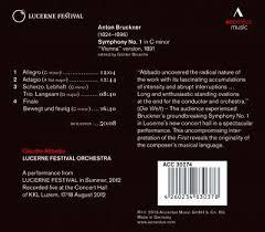 <b>Claudio Abbado</b> & Lucerne Festival Orchestra – <b>Bruckner</b> ...