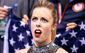 See Ashley Wagner's displeased face in meme form | EW.com via Relatably.com