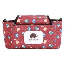 Ocamo Portable <b>Baby Stroller</b> Bag <b>Nappy Diaper</b> Carriage Hanging ...