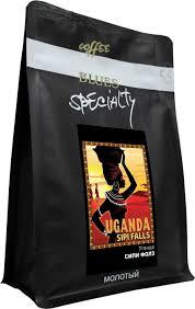 Блюз Сипи Фолз <b>Уганда кофе молотый</b>, 200 г