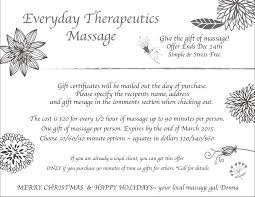 packages gift certificates