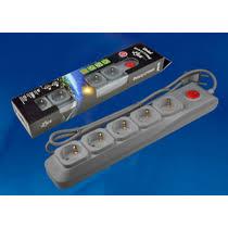<b>Сетевой фильтр Uniel</b> Lux <b>S</b>-<b>GSL5</b>-<b>3</b> купить с доставкой по ...