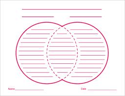 venn diagram worksheet templates   free sample  example format    printable venn diagrams template worksheet free pdf download