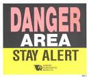 danger area