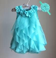 <b>Girls Dress 2017 Summer</b> Chiffon Party Dress Infant 1 Year Birthday ...