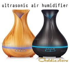 400ml Ultrasonic Air Humidifier 7 color changing ... - TripleClicks.com