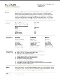 accounts assistant cv  cashbook reconciliations  resume  writing    entry level accounting assistant resume