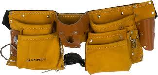 <b>Сумка поясная</b> 10 карманов для ручного инструмента <b>Stayer</b> 38512