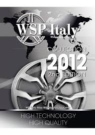 <b>WSP Italy</b> 2012 Brochure by Remon Pijnaker - issuu
