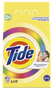 <b>Стиральный порошок Tide</b> Детский Color, для <b>чувствительной</b> ...