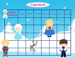 princess potty chart personalized children s incentive chart reward chart ice princess printable diy