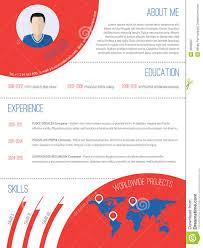 modern resume design stock vector image 49999257 modern resume design