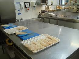 photos taylors fish chip shop woodley the fish preparation area