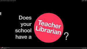 does your school have a teacher librarian a csla film
