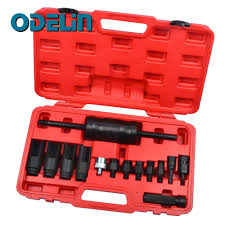 <b>14 Piece Injector</b> Removal / Replacement Extractor Slide Hammer ...