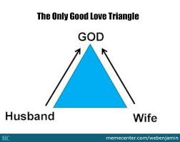 The Only Good Love Triangle by webenjamin - Meme Center via Relatably.com