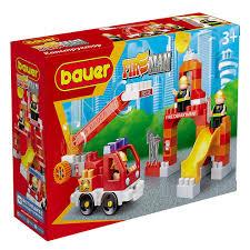 """игрушка 740 <b>Конструктор Бауер</b> """"<b>Fireman</b>"""" набор пожарная ..."""
