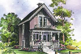 Victorian House Plans   Pearl     Associated DesignsVictorian House Plan   Pearl     Front Eelvation