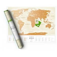 Скретч-карта мира 1DEA.me Travel Map Gold Ukr ... - ROZETKA