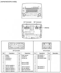 in search of radio wiring diagram hyundai forums hyundai forum her s the pinout for the 2007 infinity radio