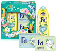 Купить <b>Набор Fa Ритмы острова</b> Гавайи + 2 мыла по низкой цене ...