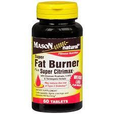 Mason Natural Super <b>Fat Burner Plus Super</b> Citrimax, Tablets - 60 ea