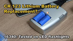 <b>16340 rechargeable lithium ion</b> batteries tested on LED flashlights ...