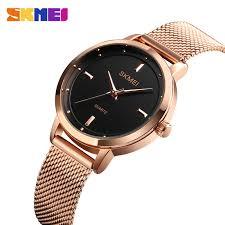 <b>SKMEI Fashion Women</b> Watch Casual Quartz Wristwatches <b>Simple</b> ...