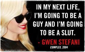 gwen stefani quote | Tumblr via Relatably.com
