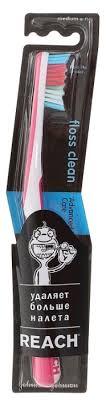 <b>Зубная щетка</b> Reach <b>Floss</b> Clean Medium — купить по выгодной ...