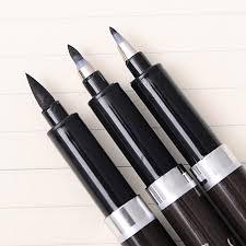 <b>3 pcs</b>/<b>lot</b> Chinese <b>Calligraphy</b> Brush Pen for Signature Drawing ...