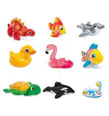 <b>Надувная игрушка Intex</b> Животные, 36 см, артикул: 58590 - купить ...