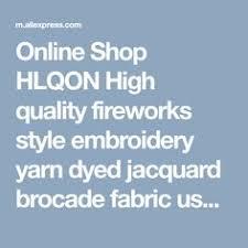Black flower Metallic Jacquard Brocade Fabric,3D jacquard fabric ...