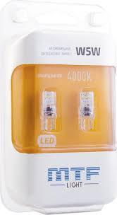 Автомобильные светодиодные <b>лампы MTF light VEGA</b> T10/W5W ...