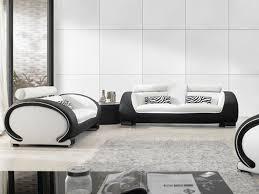 furniture awesome modern luxury black black sofa set office