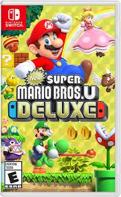 <b>New Super Mario Bros</b> U Deluxe, Nintendo, Nintendo Switch ...